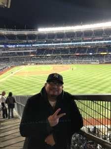 Johnny  attended New York Yankees vs. Detroit Tigers - MLB on Apr 1st 2019 via VetTix