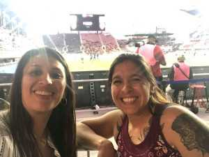 Roxanne attended DC United vs. Montreal Impact - MLS on Apr 9th 2019 via VetTix