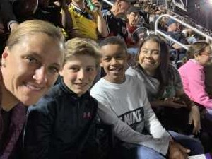 Amanda attended DC United vs. Montreal Impact - MLS on Apr 9th 2019 via VetTix