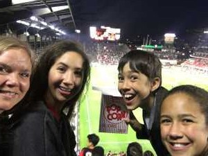 Heather attended DC United vs. Montreal Impact - MLS on Apr 9th 2019 via VetTix