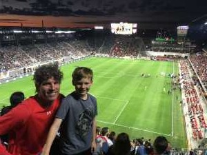 Lucas attended DC United vs. Montreal Impact - MLS on Apr 9th 2019 via VetTix