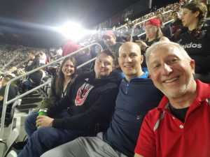 Robert attended DC United vs. Montreal Impact - MLS on Apr 9th 2019 via VetTix