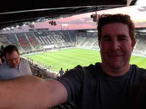 Joseph  attended DC United vs. Montreal Impact - MLS on Apr 9th 2019 via VetTix