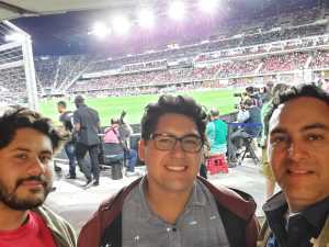 Jose Rengifo attended DC United vs. Montreal Impact - MLS on Apr 9th 2019 via VetTix