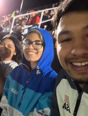 Edwin  attended DC United vs. Montreal Impact - MLS on Apr 9th 2019 via VetTix