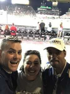 Lawrence  attended DC United vs. Montreal Impact - MLS on Apr 9th 2019 via VetTix