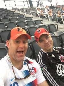 Seth attended DC United vs. Montreal Impact - MLS on Apr 9th 2019 via VetTix