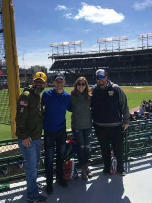 Sean attended Chicago Cubs vs. Los Angeles Angels - MLB on Apr 13th 2019 via VetTix