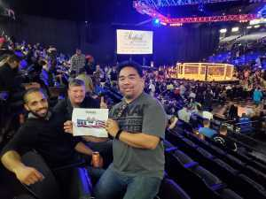 Steve attended Shogun Fights - Mixed Martial Arts on Apr 6th 2019 via VetTix