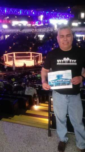 ELOY attended Shogun Fights - Mixed Martial Arts on Apr 6th 2019 via VetTix