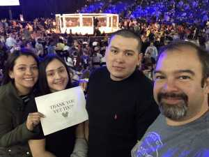 Denis attended Shogun Fights - Mixed Martial Arts on Apr 6th 2019 via VetTix