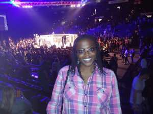 Teiana attended Shogun Fights - Mixed Martial Arts on Apr 6th 2019 via VetTix