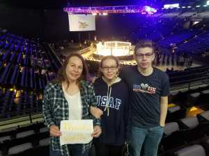 Bernadette attended Shogun Fights - Mixed Martial Arts on Apr 6th 2019 via VetTix