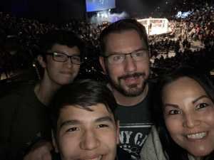April attended Shogun Fights - Mixed Martial Arts on Apr 6th 2019 via VetTix