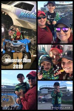 Tyler attended Monster Jam - Motorsports/racing on Apr 27th 2019 via VetTix