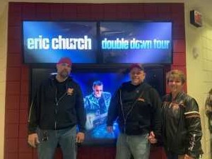 Ty attended Eric Church: Double Down Tour Friday Only on Apr 19th 2019 via VetTix