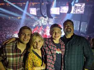 jeffrey attended Eric Church: Double Down Tour Friday Only on Apr 19th 2019 via VetTix