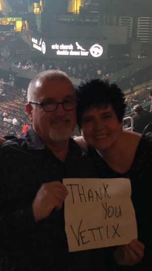 Danny attended Eric Church: Double Down Tour Friday Only on Apr 19th 2019 via VetTix