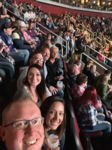 Sean attended Eric Church: Double Down Tour Friday Only on Apr 19th 2019 via VetTix