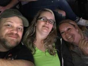 Frederick attended Eric Church: Double Down Tour Friday Only on Apr 19th 2019 via VetTix