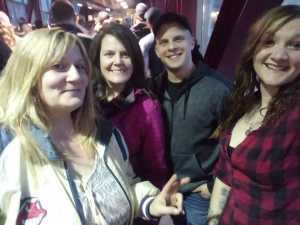 Traci attended Eric Church: Double Down Tour Friday Only on Apr 19th 2019 via VetTix