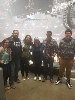 juan attended Eric Church: Double Down Tour Friday Only on Apr 19th 2019 via VetTix