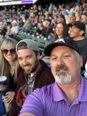 Randal attended Colorado Rockies vs. Washington Nationals - MLB on Apr 23rd 2019 via VetTix