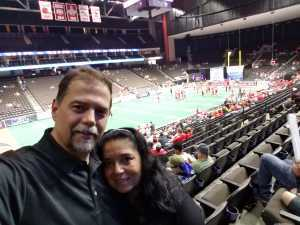 charles attended Jacksonville Sharks vs. New York Streets - NAL - Home Opener on Apr 13th 2019 via VetTix