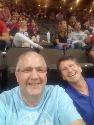 Dan  attended Jacksonville Sharks vs. New York Streets - NAL - Home Opener on Apr 13th 2019 via VetTix
