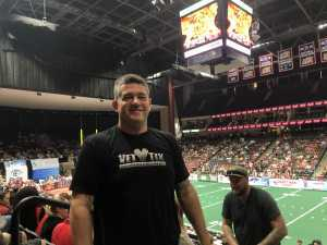 Stuart attended Jacksonville Sharks vs. New York Streets - NAL - Home Opener on Apr 13th 2019 via VetTix