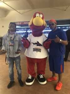 "Anthony ""DJ Trust"" Smith attended Jacksonville Sharks vs. New York Streets - NAL - Home Opener on Apr 13th 2019 via VetTix"