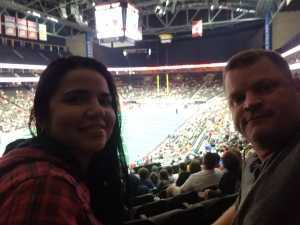 Corey attended Jacksonville Sharks vs. New York Streets - NAL - Home Opener on Apr 13th 2019 via VetTix