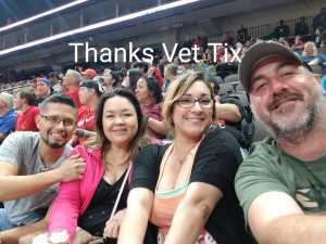 Richard attended Jacksonville Sharks vs. New York Streets - NAL - Home Opener on Apr 13th 2019 via VetTix