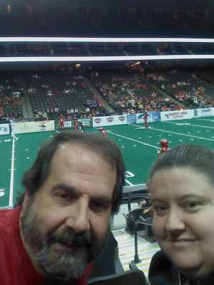 Shaunee  attended Jacksonville Sharks vs. New York Streets - NAL - Home Opener on Apr 13th 2019 via VetTix