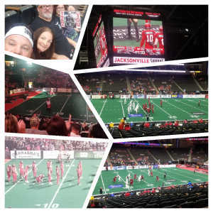 Louis Wright attended Jacksonville Sharks vs. New York Streets - NAL - Home Opener on Apr 13th 2019 via VetTix
