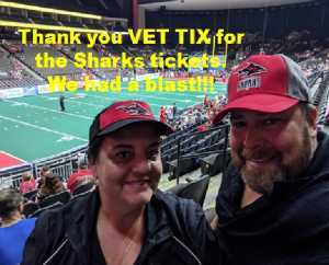 Russell attended Jacksonville Sharks vs. New York Streets - NAL - Home Opener on Apr 13th 2019 via VetTix