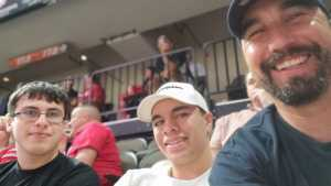 Micheal attended Jacksonville Sharks vs. New York Streets - NAL - Home Opener on Apr 13th 2019 via VetTix