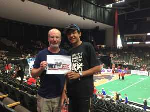 Kenny attended Jacksonville Sharks vs. New York Streets - NAL - Home Opener on Apr 13th 2019 via VetTix