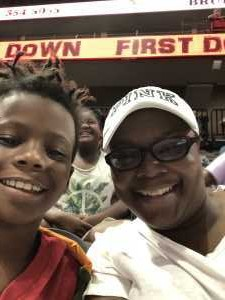 Nekishia attended Jacksonville Sharks vs. New York Streets - NAL - Home Opener on Apr 13th 2019 via VetTix