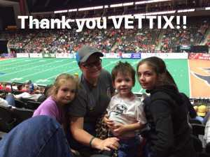 Nicole attended Jacksonville Sharks vs. New York Streets - NAL - Home Opener on Apr 13th 2019 via VetTix