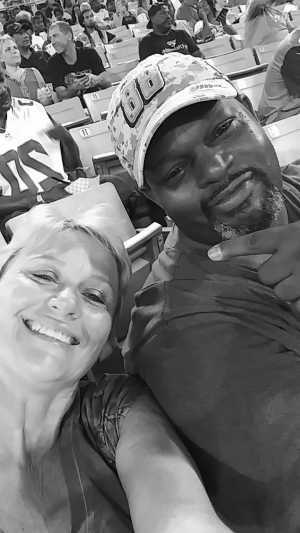 Cynthia attended Jacksonville Sharks vs. New York Streets - NAL - Home Opener on Apr 13th 2019 via VetTix