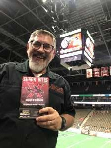 David attended Jacksonville Sharks vs. New York Streets - NAL - Home Opener on Apr 13th 2019 via VetTix