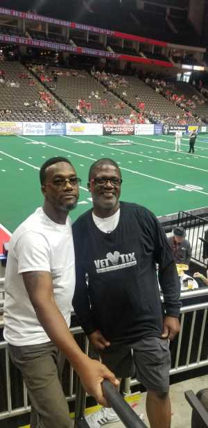 Robert attended Jacksonville Sharks vs. New York Streets - NAL - Home Opener on Apr 13th 2019 via VetTix