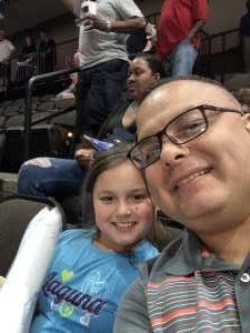Manuel attended Jacksonville Sharks vs. New York Streets - NAL - Home Opener on Apr 13th 2019 via VetTix
