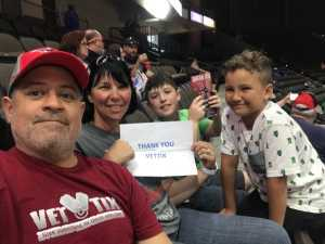 Stro attended Jacksonville Sharks vs. New York Streets - NAL - Home Opener on Apr 13th 2019 via VetTix