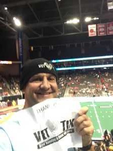greg attended Jacksonville Sharks vs. New York Streets - NAL - Home Opener on Apr 13th 2019 via VetTix