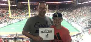 Adam attended Jacksonville Sharks vs. New York Streets - NAL - Home Opener on Apr 13th 2019 via VetTix