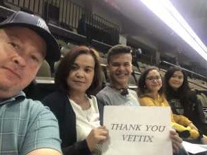 Gerald attended Jacksonville Sharks vs. New York Streets - NAL - Home Opener on Apr 13th 2019 via VetTix