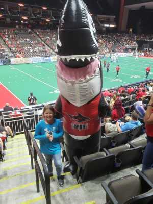 Gary attended Jacksonville Sharks vs. New York Streets - NAL - Home Opener on Apr 13th 2019 via VetTix