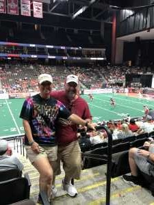 Candace attended Jacksonville Sharks vs. New York Streets - NAL - Home Opener on Apr 13th 2019 via VetTix